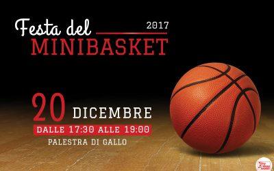 Eventi | Festa del Minibasket 2017