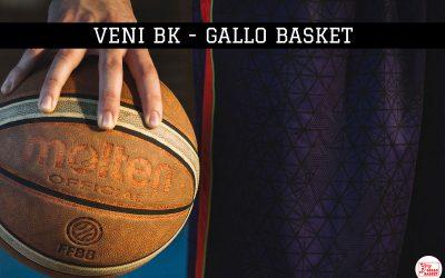 U15 | Veni Bk – Gallo Bk