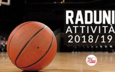 Raduni attività 2018-2019