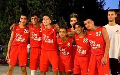U15: Un altro primo posto per il Gallo Basket!