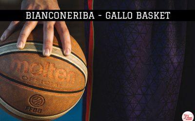 U14 | Bianconeriva – Gallo Basket