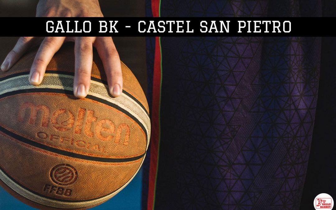 Gallo Bk – Pall. Castel S.Pietro