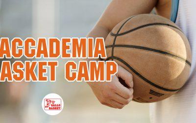 2° Edizione Accademia Basket Camp